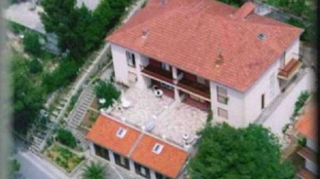 Chorwacja pokoje i apartamenty eli karwia mapa