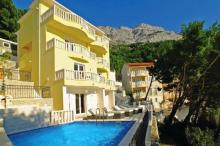 villa with swiming pool, apartment with swimming pool, apartment_brela, matijevic_ante brela